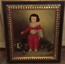 VINTAGE ART PAINTING TITLED DON MANUEL BY GOYA 22 x 26