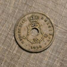Belgium 5 centimes 1902