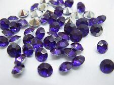 2000Diamond Confetti 6.5mm Wedding Table Scatter-Purple