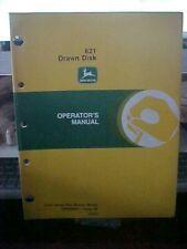 Om John Deere 621 Drawn Disk Issue E6 (1G)