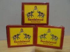 Sandalwood Incense Cones  3 Boxes x 10  Total 30 Cones  KAMINI  Free Post AU