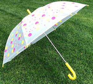 Raintec Yellow & Multi Colored Party Design Umbrella