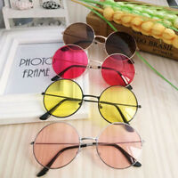 Retro Round Frame Sunglasses Women Men Fashion Vintage Glasses Eyewear UV400