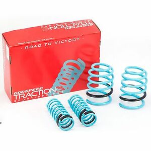 GODSPEED TRACTION-S LOWERING SPRINGS FOR HYUNDAI ACCENT 2006-2011 MC