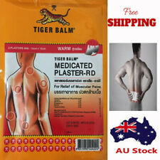 1 Xplaster Tiger Balm Warm Back Pain Medicated Patch Long Lasting Relief 10x14cm