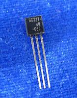 2pcs BC337-40 BC33740 SMALL SIGNAL NPN TRANSISTORS m
