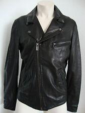 Lee chaqueta de cuero Leather chaqueta Biker style lammnappa señores talla L nuevo con etiqueta