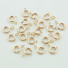 5MM 14K Gold Filled Spring Rings Clasps CLOSED