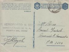 7986) WW2, TREVISO, BOLLO DEL R. AEROPORTO 237 SU FRANCHIGIA.