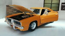 G LGB 1:24 1:25 Scale Dodge Charger R/T 1969 Orange Maisto Diecast Model Car Kit