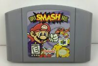 Super Smash Bros Nintendo 64 N64 Game - Tested Working - ORIGINAL AUTHENTIC!
