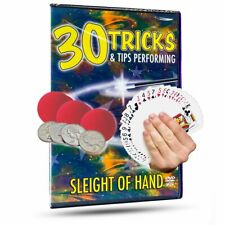 30 Tricks and Tips Sleight of Hand DVD - Autographed