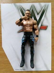 WWE Mattel CHRIS BENOIT Elite Custom Wrestling Figure Wrestlemania XX