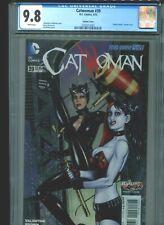 Catwoman #39 CGC 9.8 (2015) Harley Quinn Variant Jim Balent Cover Highest Grade