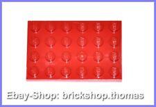 Lego Platte Grundplatte rot (4 x 6) - 3032 - Red Plate - NEU / NEW