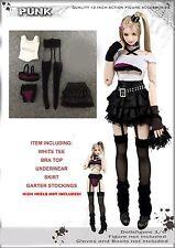 CC175 1/6 DOLLSFIGURE Sexy Punk Clothing Set for HOT TOYS,VERY COOL TOYS,KUMIK