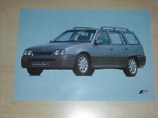 61477) Opel Kadett irmscher Caravan folleto 09/1989