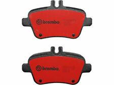 For 2014-2015 Mercedes B Electric Drive Brake Pad Set Rear Brembo 21958CG Base