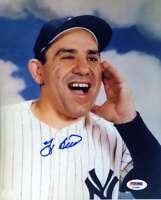 Yogi Berra Psa Dna Coa Hand Signed 8x10 Photo Autograph 1