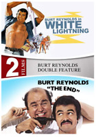 White Lightning / The End - 2 Movies (DVD) • NEW • Burt Reynolds