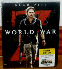 GUERRA MUNDIAL Z WORLD WAR EDICION LIMITADA DIGIPACK 1 BLU-RAY+2 DVD PRECINTADO