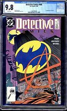 DETECTIVE COMICS  #608 CGC 9.8 WHITE PAGES!! 1ST ANARKY  SALE!!