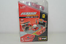 BBURAGO BURAGO FERRARI RACE AND PLAY SET MINT BOXED SEALED