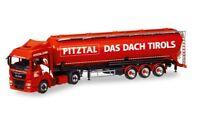 "#308502 - Herpa MAN TGX XLX Euro 6c Silo-Sattelzug ""Melmer Pitztal"" (A) - 1:87"