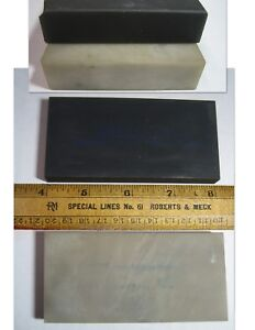Norton Hard Arkansas Oilstone lot 4x2 razor hone translucent and black jewelers