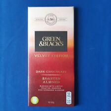 Green & Black's Velvet Edition chocolat noir amande grillée 90 G Navires dans le...