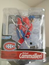 McFarlane NHL Series 28 MIKE CAMMALLERI auto signed Montreal Canadiens