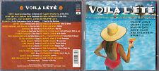 2 CD VOILA L'ETE DIAL 36T CLAUDE FRANCOIS/LAVIL/WHAM/GETZ/LOS LOBOS/CHAMPS/GAYE