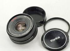 Konica Hexanon AR 40mm f1.8 Manual Focus camera Lens