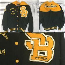 Cheerleading Vintage Pep Squad Letterman Jacket Adult Med