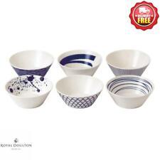 Royal Doulton Pacific Porcelain Bowls 16cm Set of 6