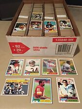 Complete Your 1981 TOPPS FOOTBALL SET EXMT/NRMT/MINT Pick 30 Point LOT