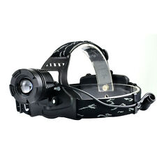 Cree XM-L LED 2200LM T6 Headlight Headlamp Zoomable Fishing Hunting Torches Lamp