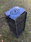 "12""x24"" Portable Burn Cage Box Campfire Stove Fire Pit Camping RV photo"