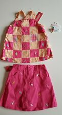 NWT Gymboree RETAIL Popsicle Party Top, Skort,Ponytail 3 pc. SET 5T SUPER CUTE!