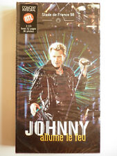 Johnny Hallyday Long box 3 cd Allume le Feu Le concert Stade de France 1998