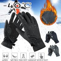 -40℃ Écran tactile Hiver Chaud Thermique Gants Ski Neige Imperméable Snowboard