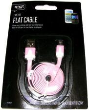Cargadores, bases y docks rosa con micro USB para teléfonos móviles y PDAs