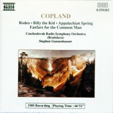 COPLAND: RODEO, BILLY THE KID, APPALACHIAN SPRING, FANFARE - NAXOS CD (1991)