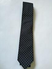 Paul Smith Cravate en soie - Noir avec motif - Pois doublure - 9cm Lame - Tout