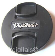 52mm Voigtlander Front Lens Cap Cover Japan Genuine OEM 52 mm Snap-on MFT Mount