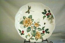 Lenox Butterfly Meadow Holiday Jasmine And Dragonfly Dinner Plate NWT