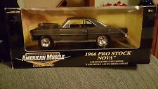 1966 Pro Stock Nova Black 1:18 Ertl American Muscle 33135
