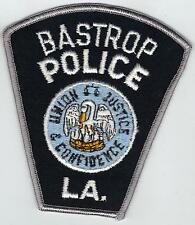 Bastrop Police (Louisiana)  Shoulder Patch - new from the 1980's