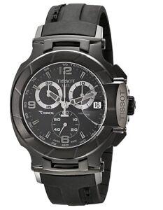Tissot T-Race Chronograph Men's Black Watch - T048.417.37.057.00 T0484173705700