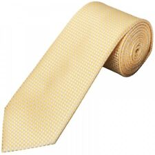 Gold Diamond Neat Classic Men's Tie Regular Tie Normal Tie Neck Tie Wedding Tie